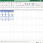 엑셀 / 피벗 테이블 / 보고서 레이아웃