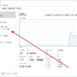 Windows Server 2019 / 작업 관리자 성능에 디스크 나오게 하는 방법