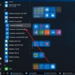 윈도우 10 / 특정 폴더에서 파워쉘(PowerShell) 실행하는 방법